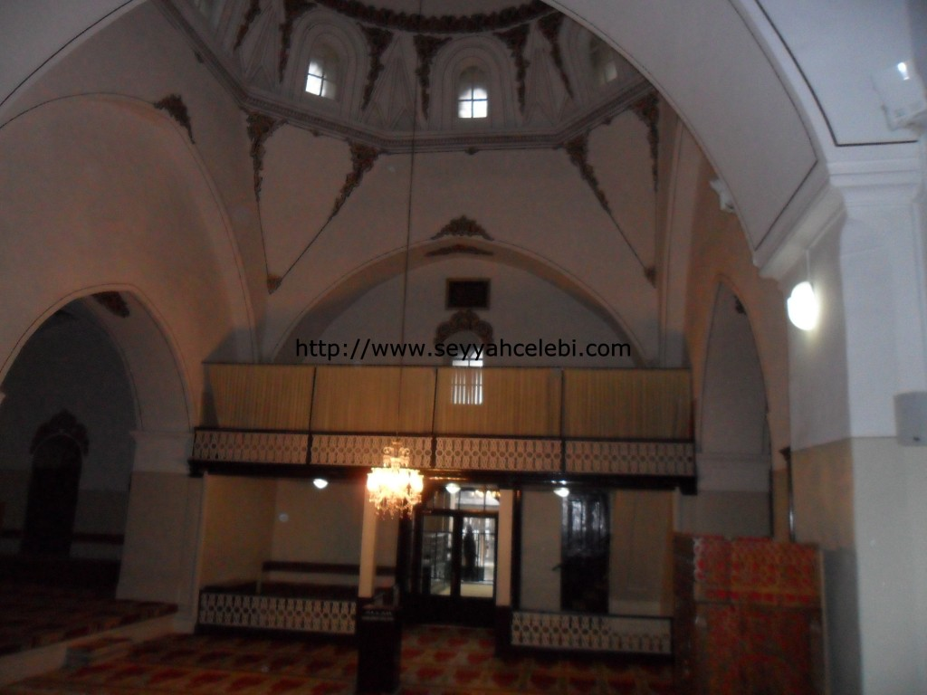 Gazi Orhan Cami Bayan Cemaat Yeri
