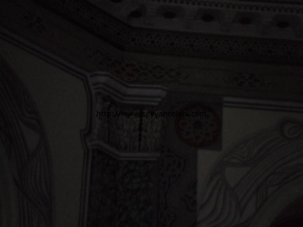 Osmangazi Türbesi Köşe Süslemeleri