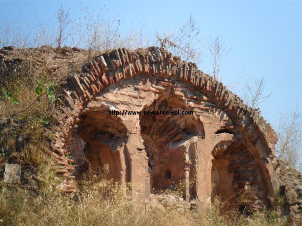 Hagios Aberkios Manastırı Üst Kısım