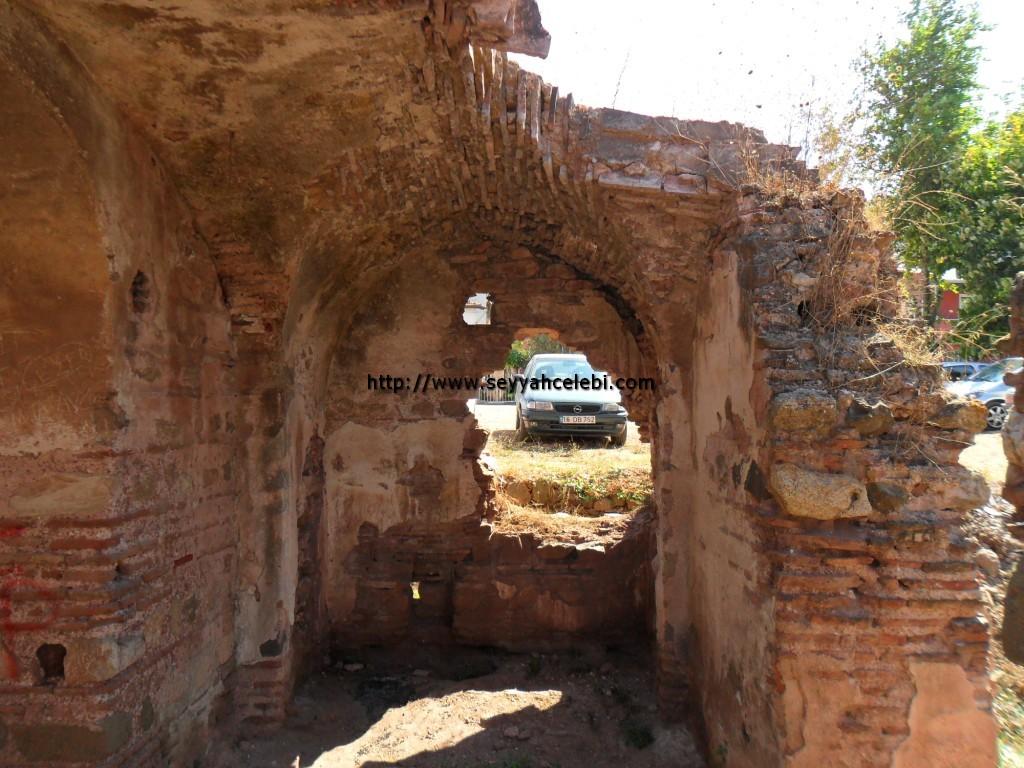 Hagios Aberkios Manastırı İç Sol Kısım