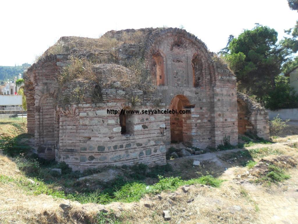 Hagios Aberkios Manastırı Arka Cephe