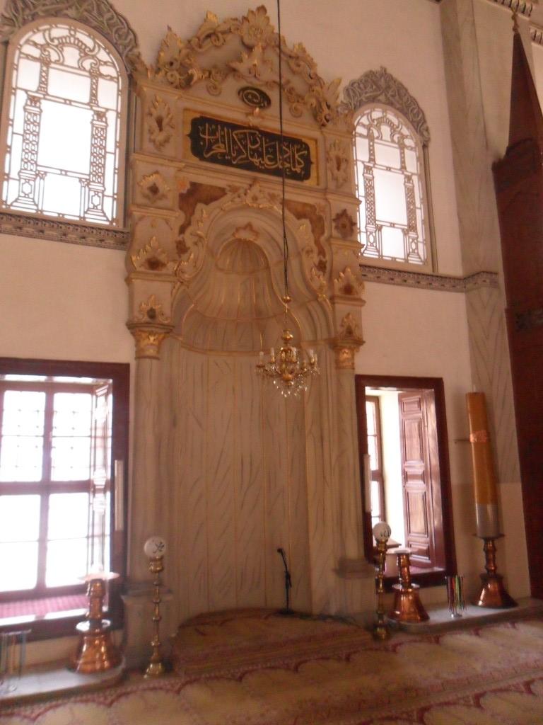 Emir Sultan Cami Mihrap Süslemeleri