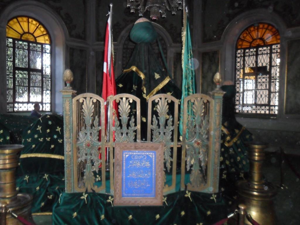 Emir Sultan Hazretleri Sandukası