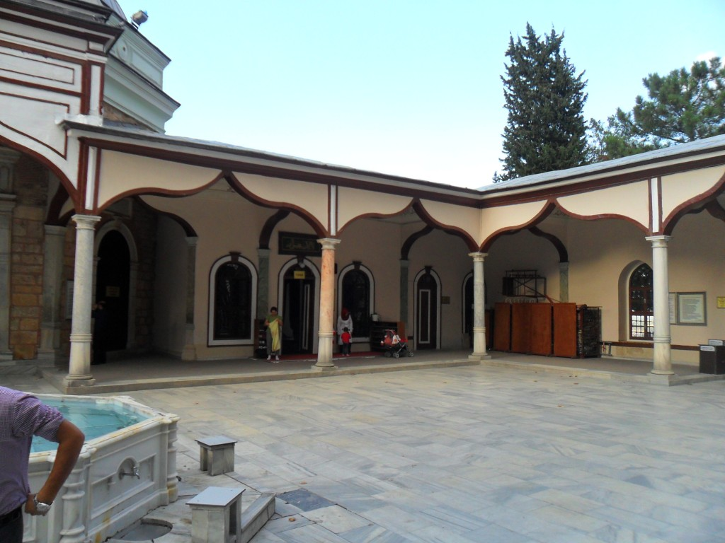 Emir Sultan Türbesi Giriş Kapısı