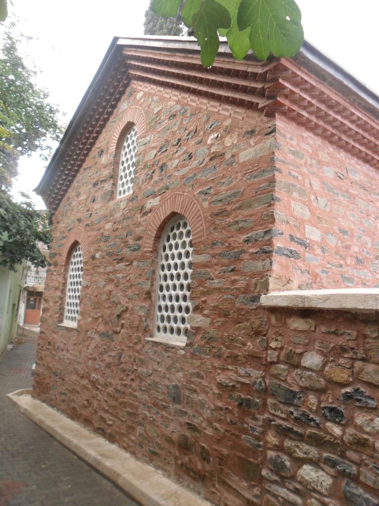 Molla Fenari Cami Dış Duvarlar
