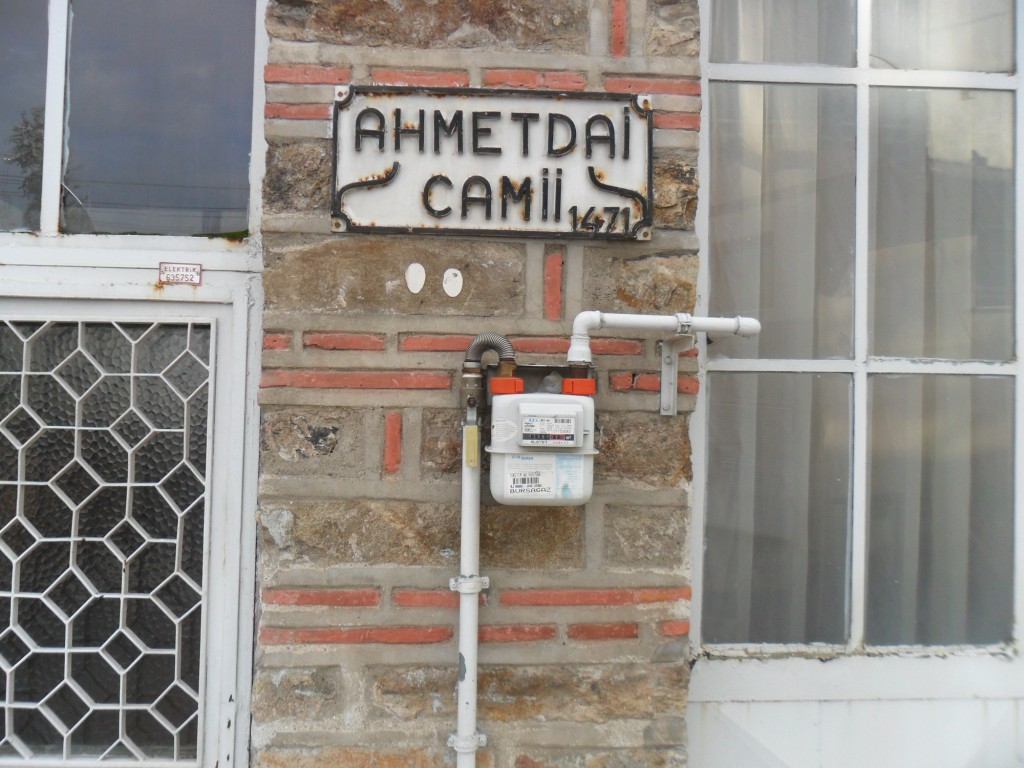 Ahmet Dai Cami Tabela