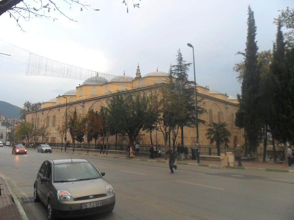 Bursa Ulu Cami Çapraz Çekim