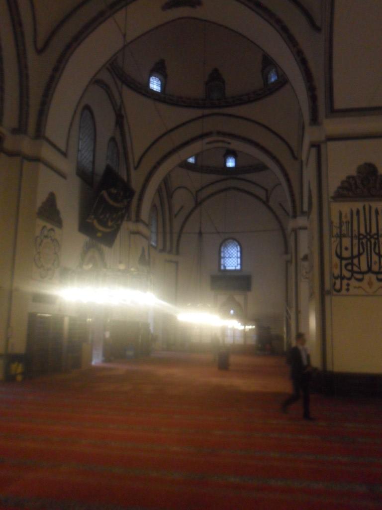 Bursa Ulu Cami Kuzey Kapısı Bölgesi