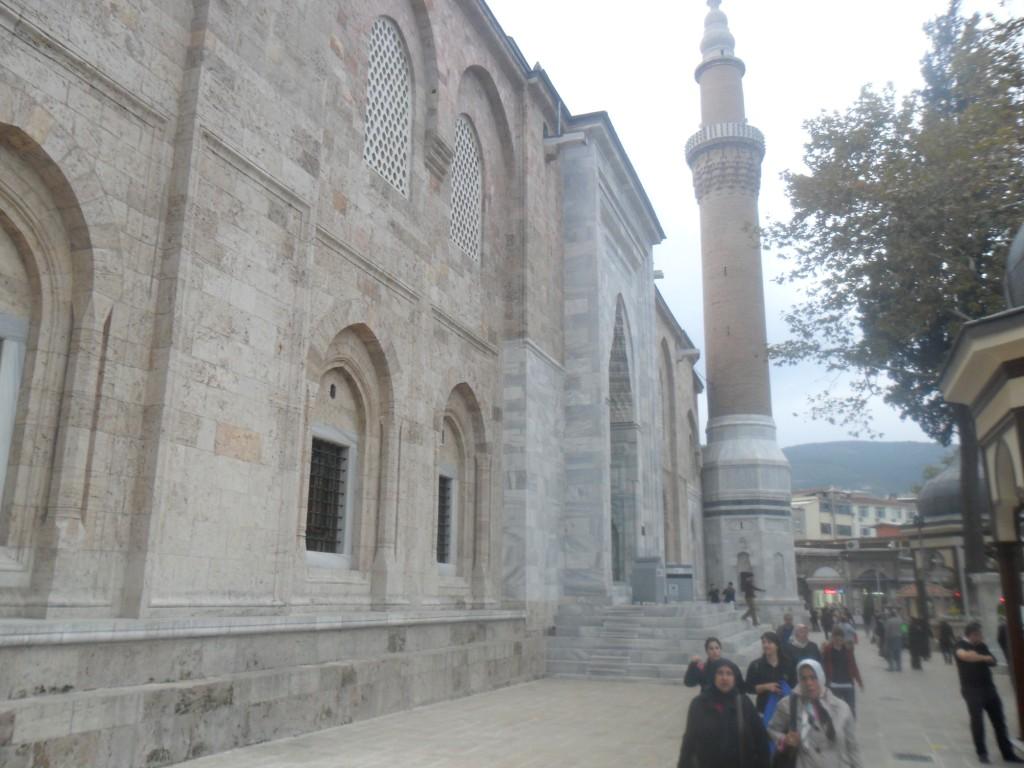 Bursa Ulu Cami Kuzey Önden Çekim