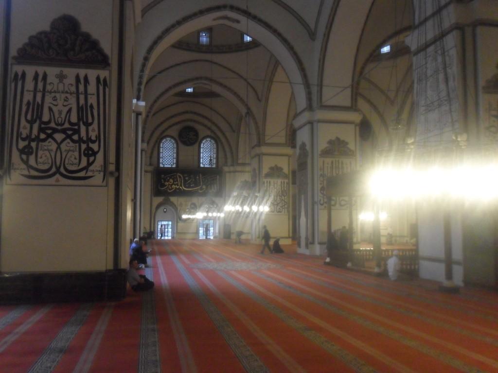 Bursa Ulu Cami Orta Bölüm