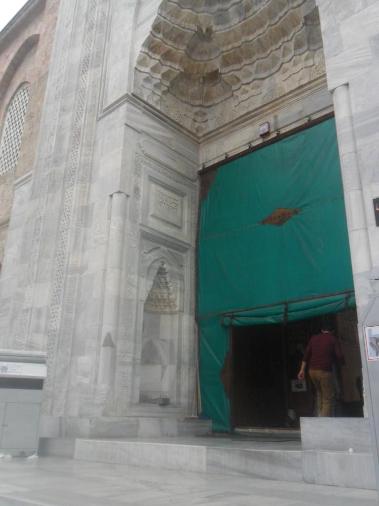 Bursa Ulu Cami Orta Kapı Mermerleri