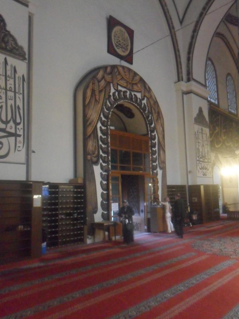 Bursa Ulu Cami Orta Kapı Süslemeleri