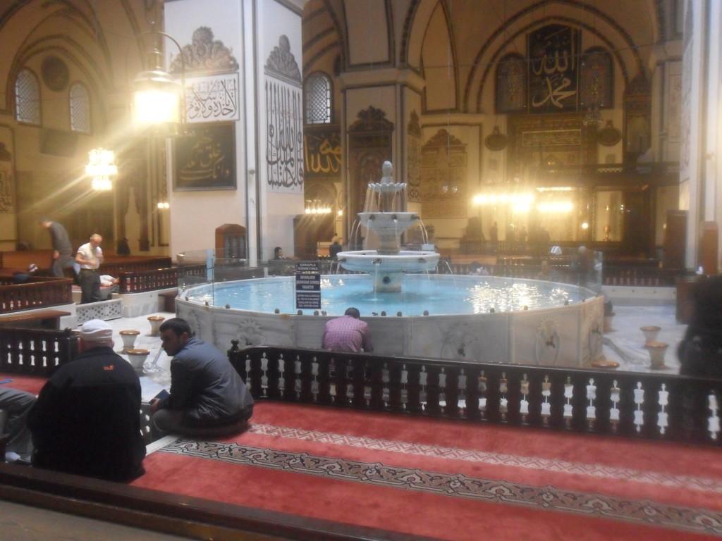 Bursa Ulu Cami Şadırvan 2