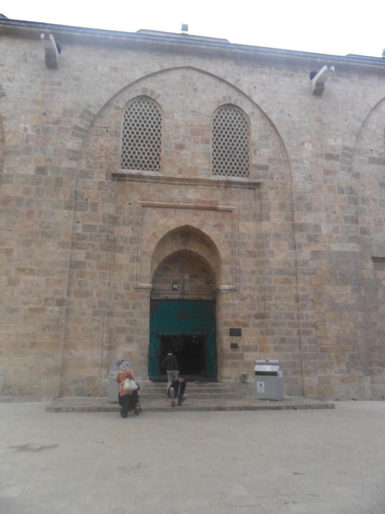 Bursa Ulu Cami Sol Kapı Dıştan