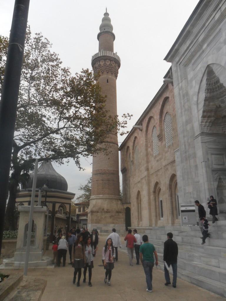Bursa Ulu Cami Sol Minare