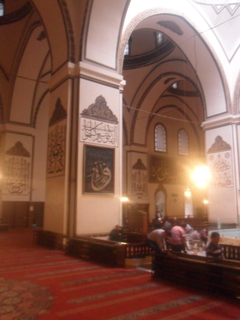 Bursa Ulu Cami Vav Yazılı Direk