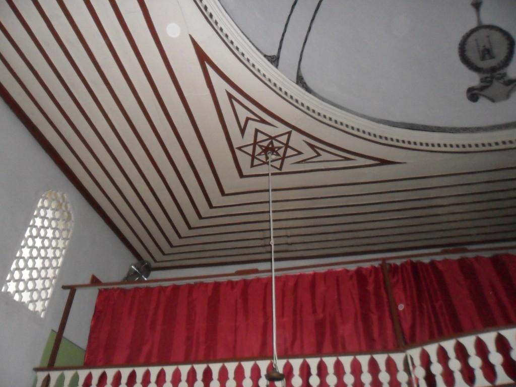 Eski Cami Ahşap Tavan Süslemeleri
