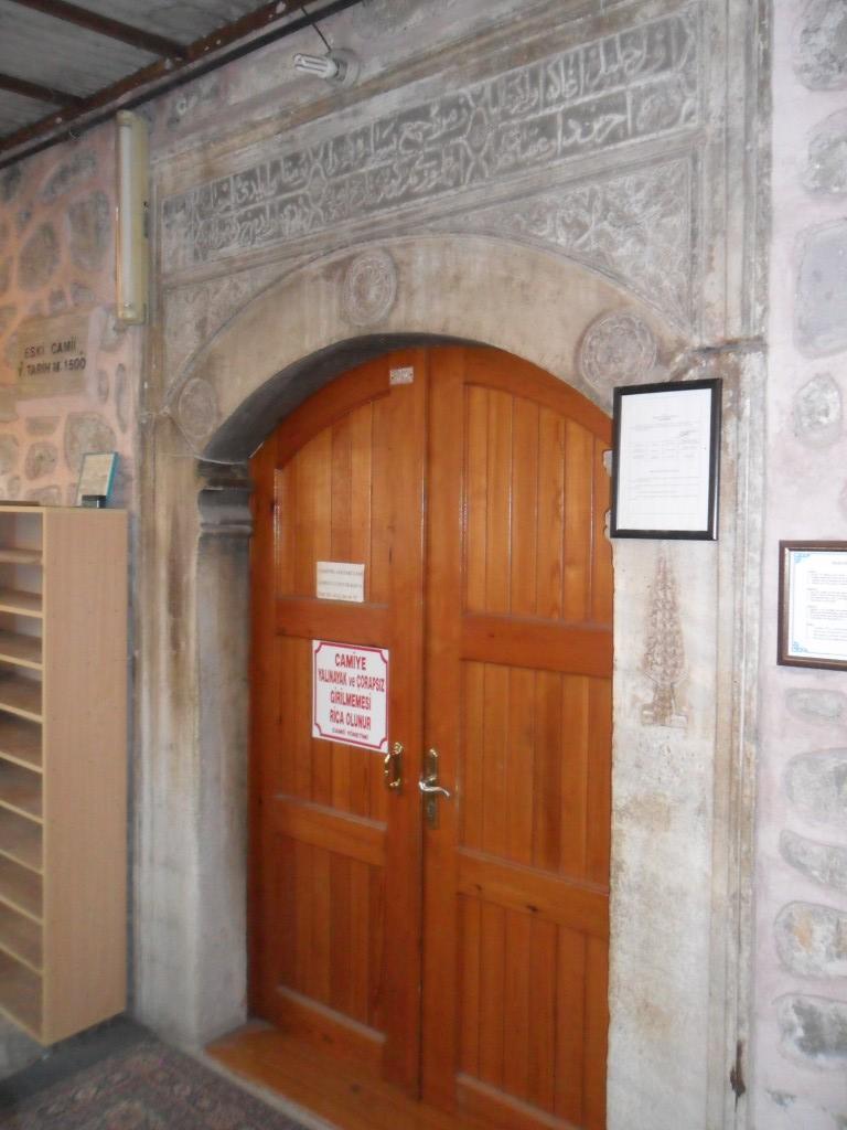 Eski Cami Yan Giriş Kapısı