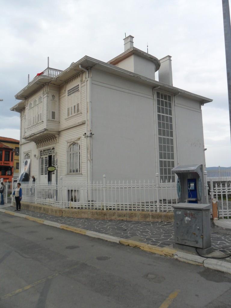 Mudanya Mütareke Evi Müzesi Yandan