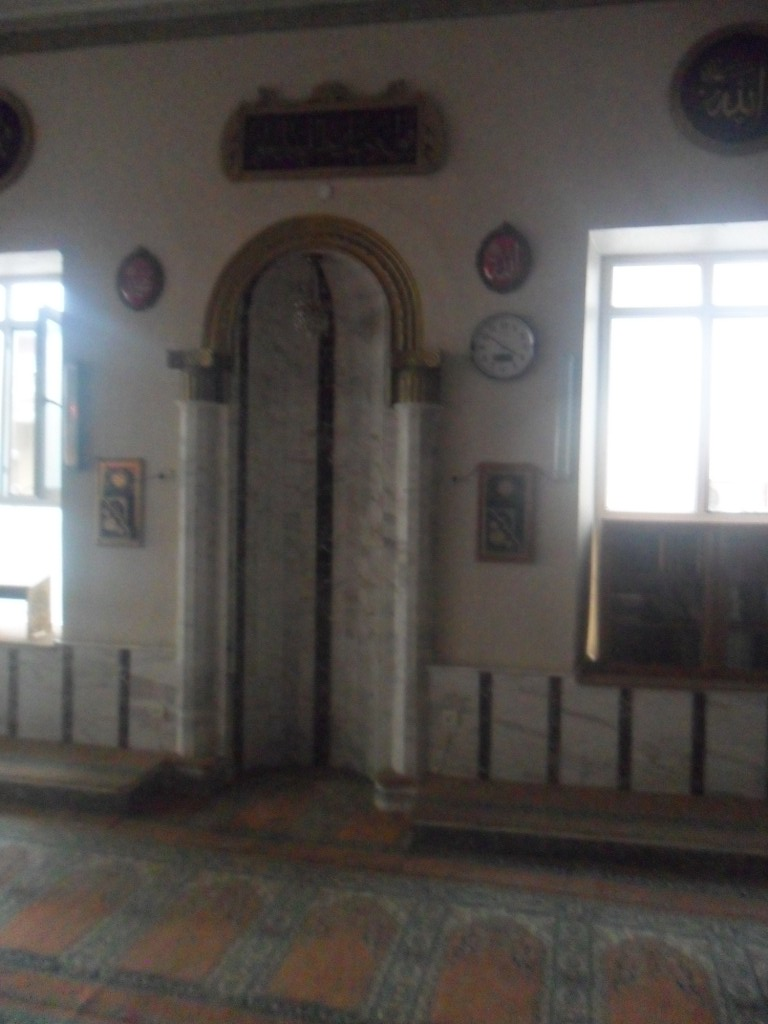 Ömerbey Cami Mihrap