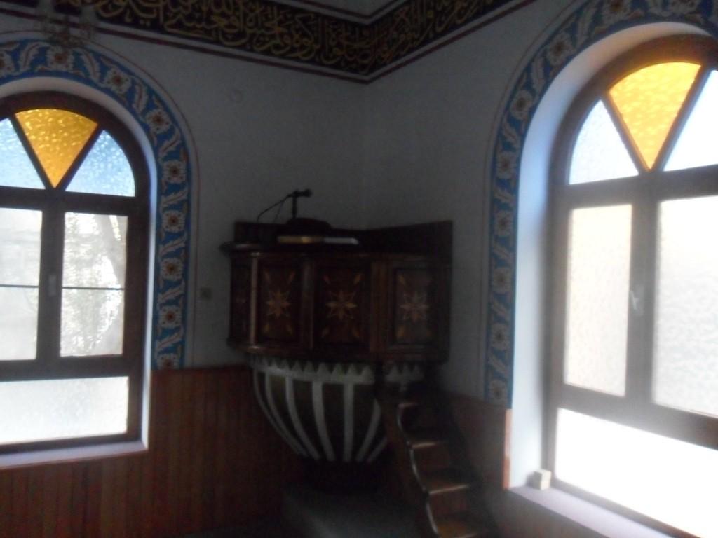 Tekke-i Cedid Cami Vaaz Yeri