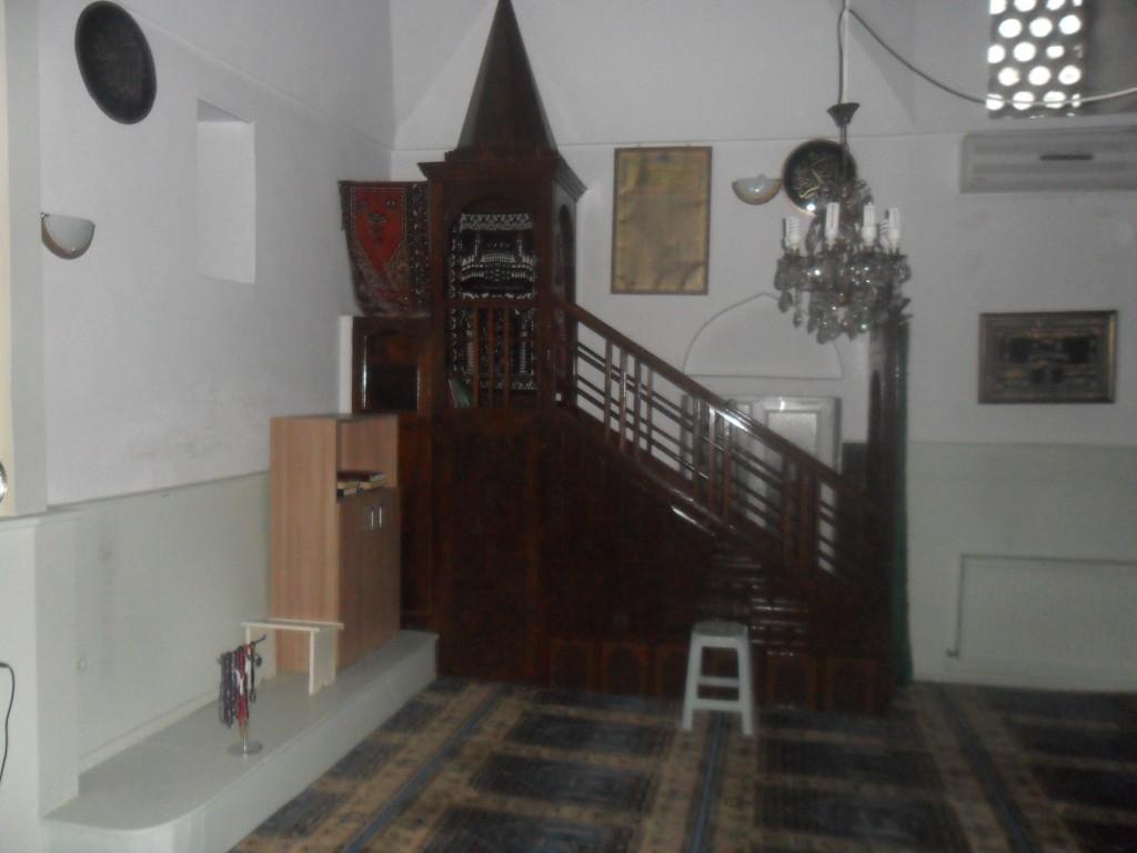 Yer Kapı Cami Minber