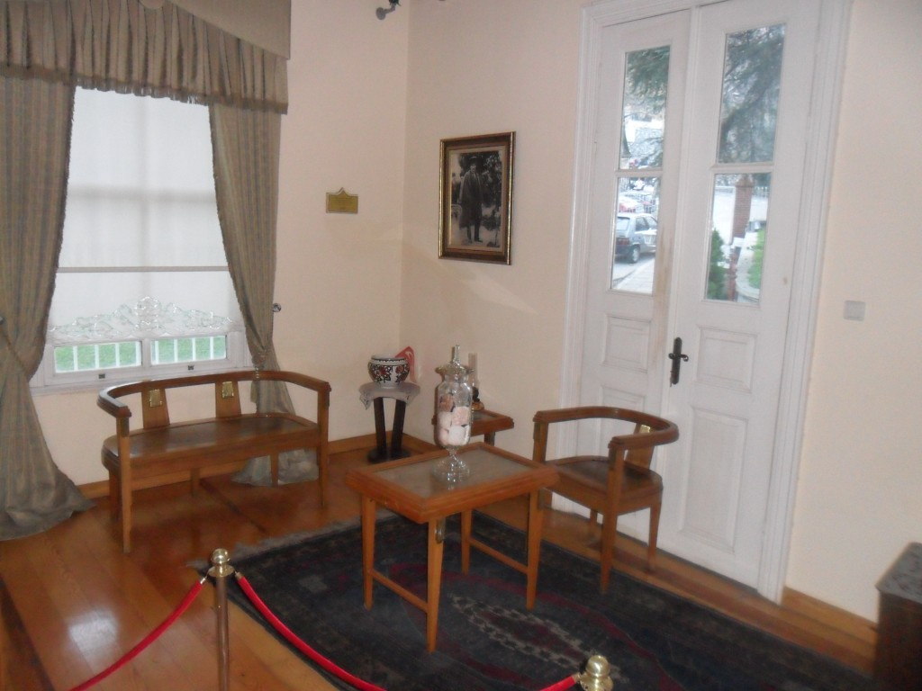Atatürk Evi Müzesi Dinlenme Odası