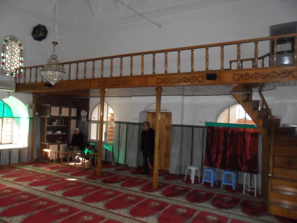 Yiğit Köhne Cami Ahşap Balkon