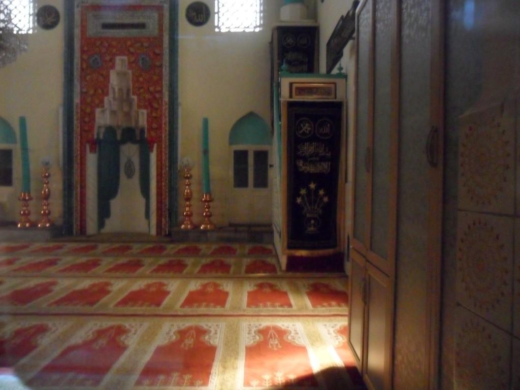 Acem Reis Cami İç Kısım Minber