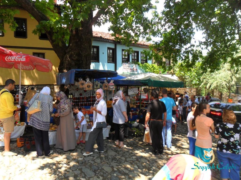 Cumalıkızık Köyü Yabancı Turistler