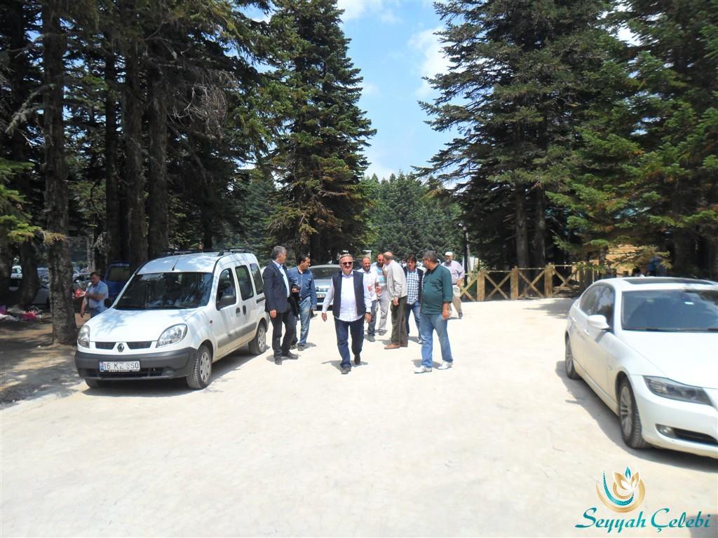Bursa Valisi Münir Karaloğlu Uludağ Çobankaya'da