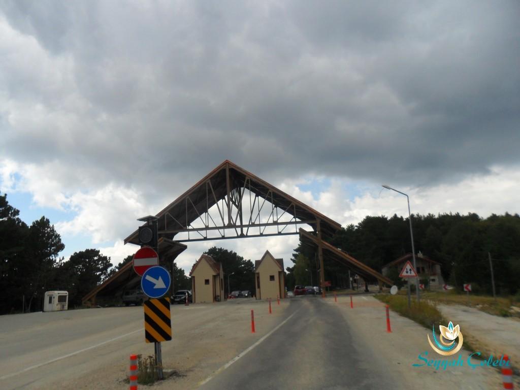 Uludağ Milli Park Karabelen Giriş Kapısı