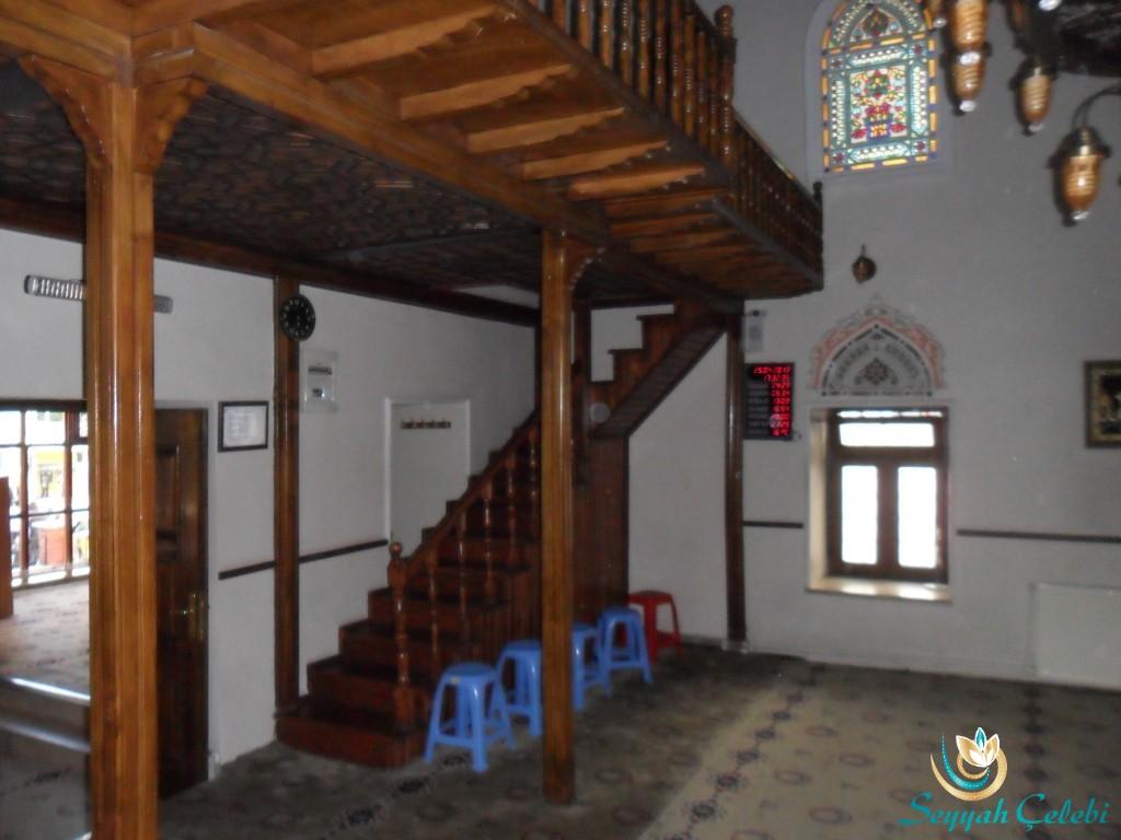 Karaşeyh Cami Ahşap Merdiven