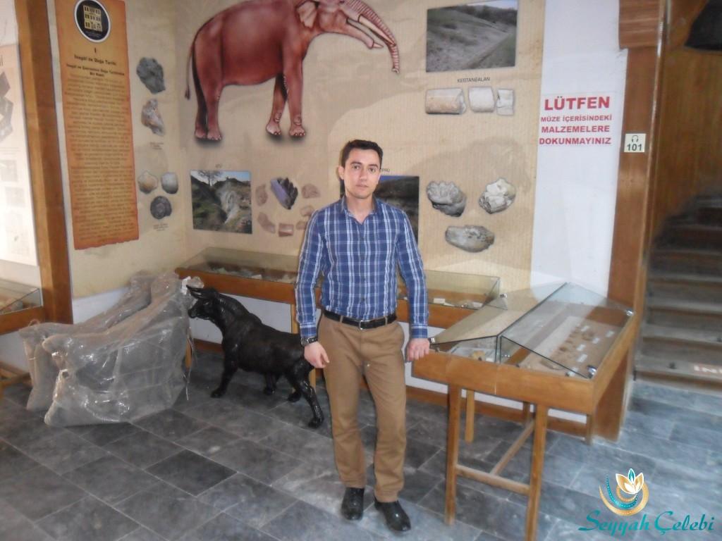 İnegöl Kent Müzesi Görevlisi