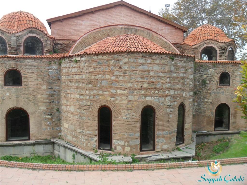 İznik Ayasofya Orhan Camii Doğu Pencereleri