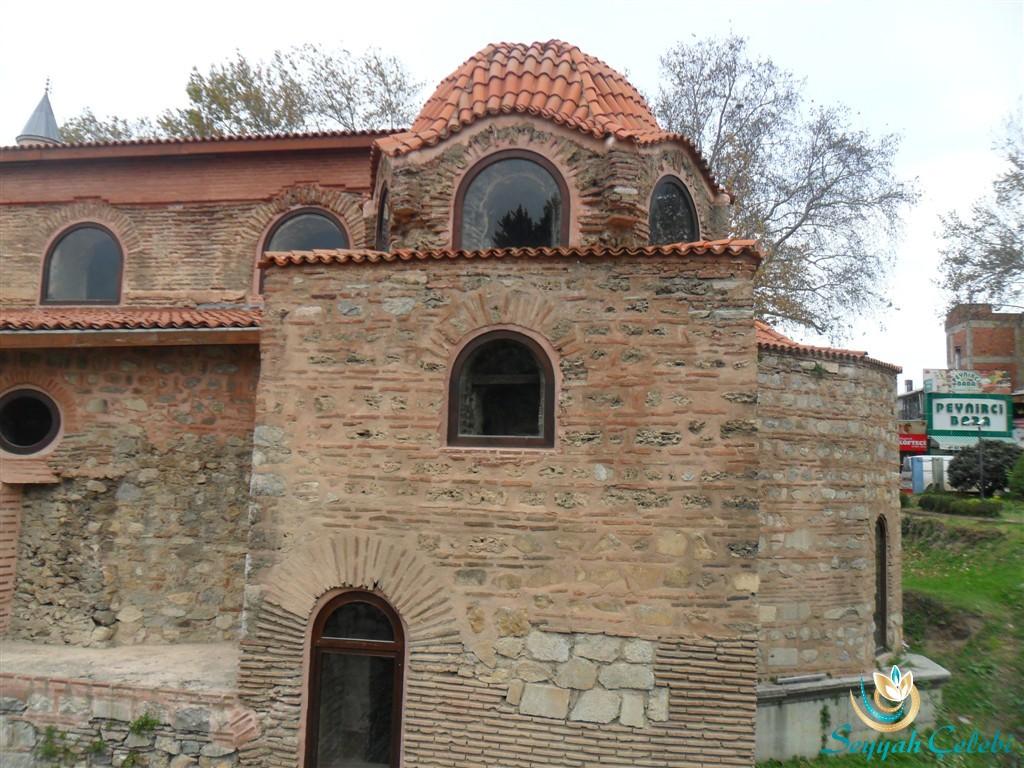 İznik Ayasofya Orhan Camii Kubbe Yakın Çekim