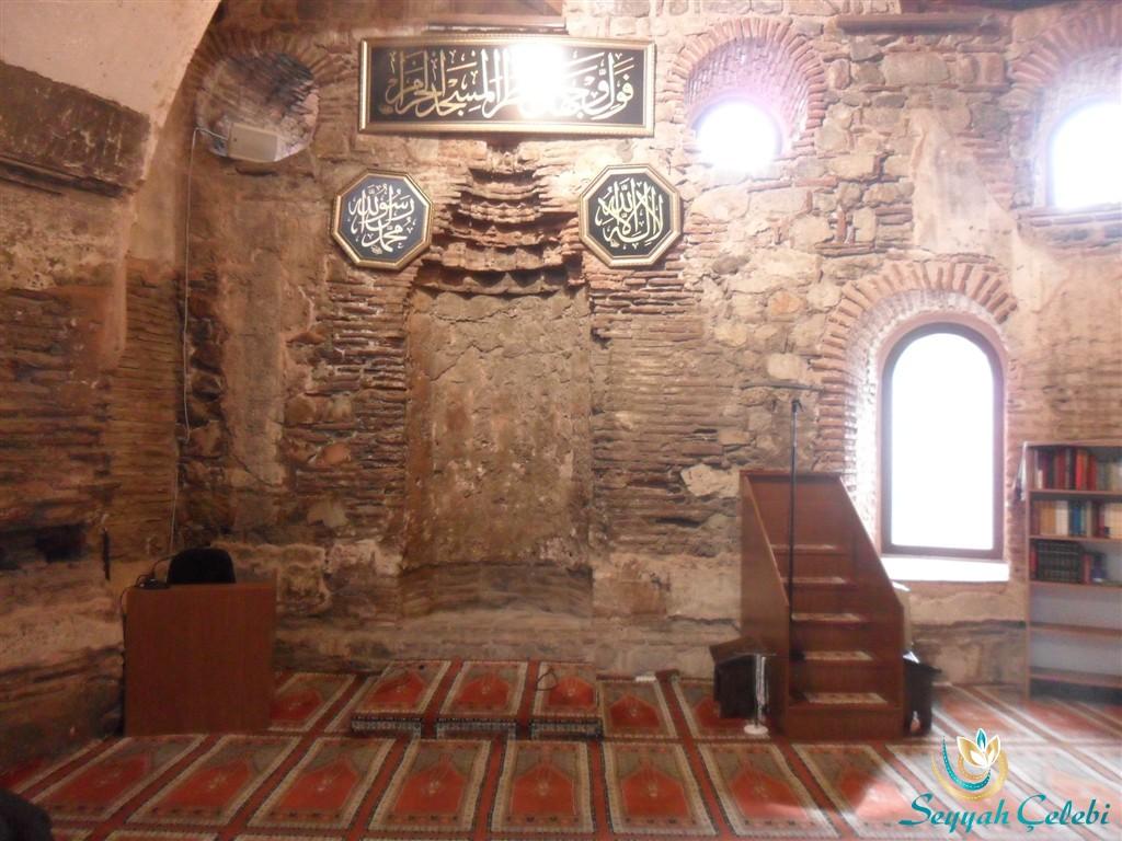 İznik Ayasofya Orhan Camii Mihrap ve Minber