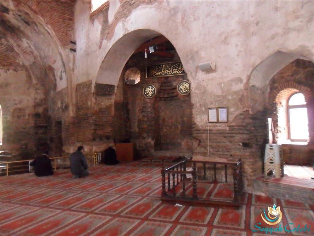 İznik Ayasofya Orhan Camii Mihrap