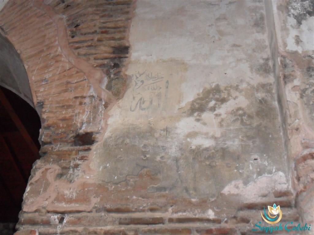 İznik Ayasofya Orhan Camii Mimar Sinan Hat Süslemeleri
