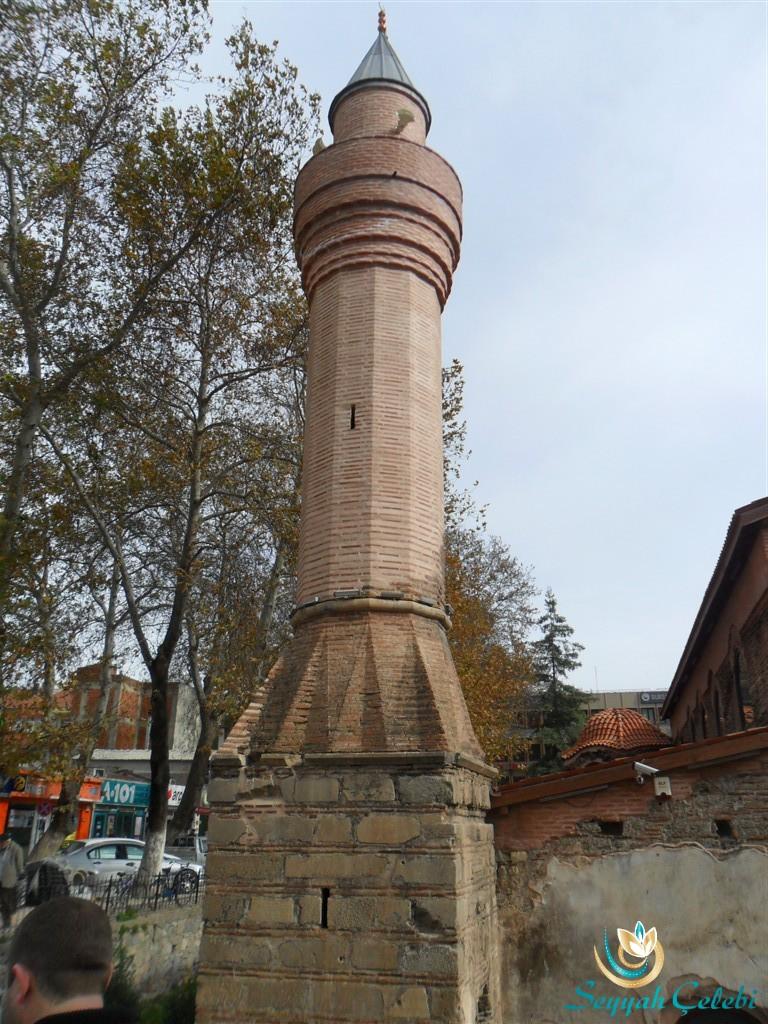 İznik Ayasofya Orhan Camii Minaresi