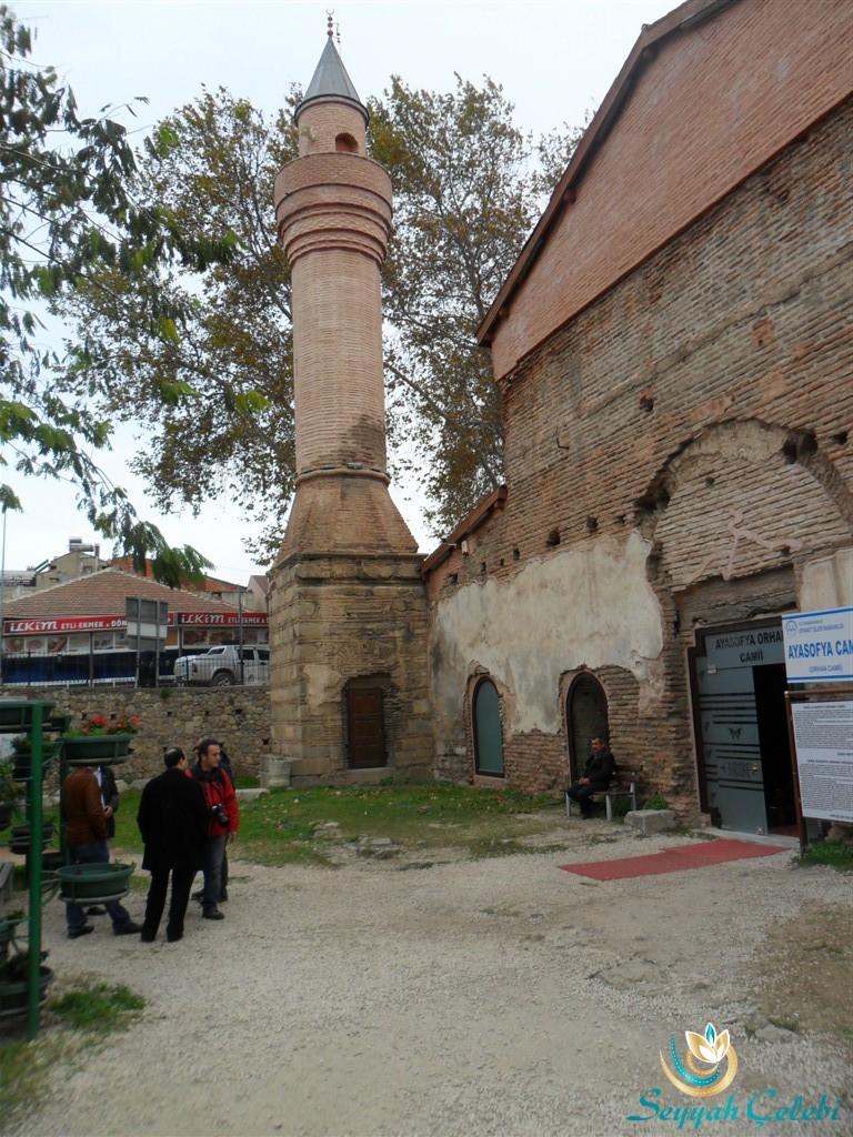 İznik Ayasofya Orhan Camii Ön Kapı ve Minare