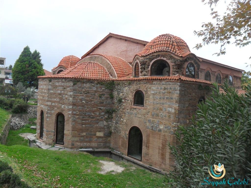 İznik Ayasofya Orhan Camii Sağ Arka