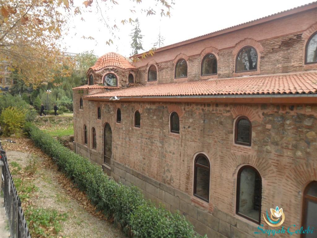 İznik Ayasofya Orhan Camii Sağ Çekim