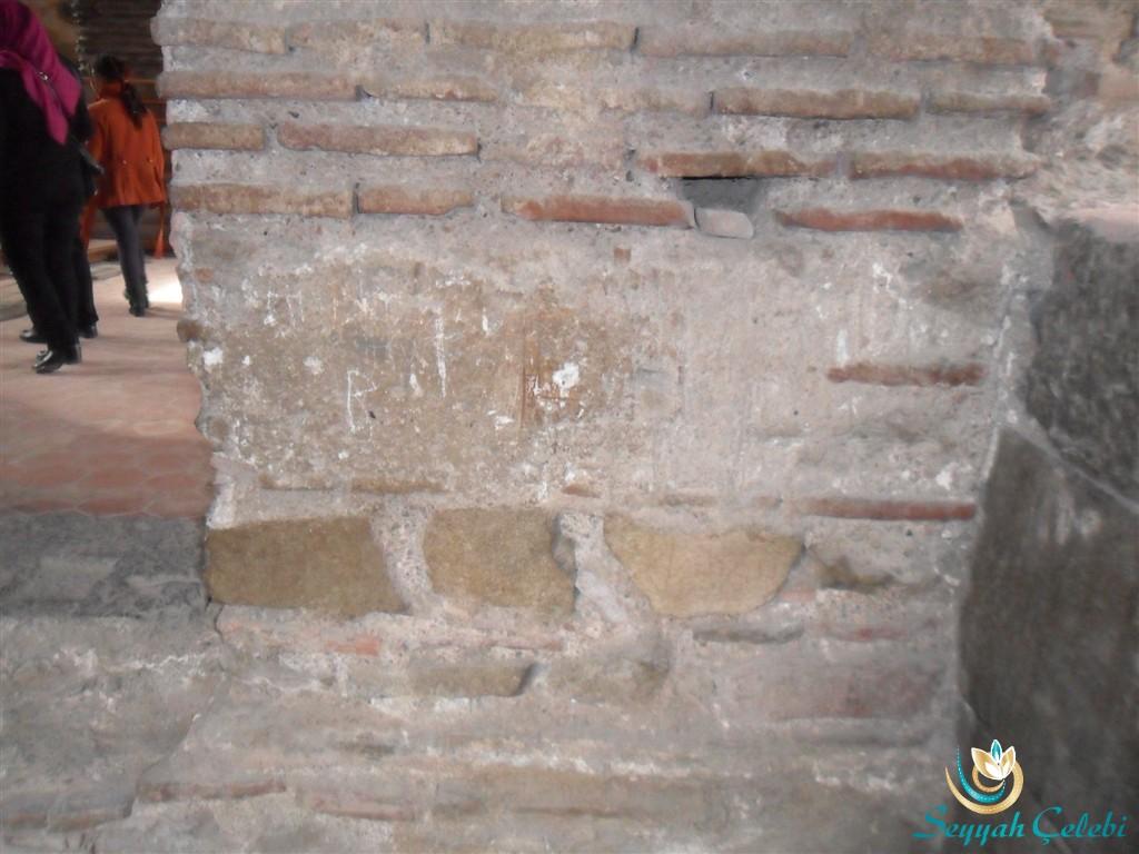 İznik Ayasofya Orhan Camii Taşta Süsleme