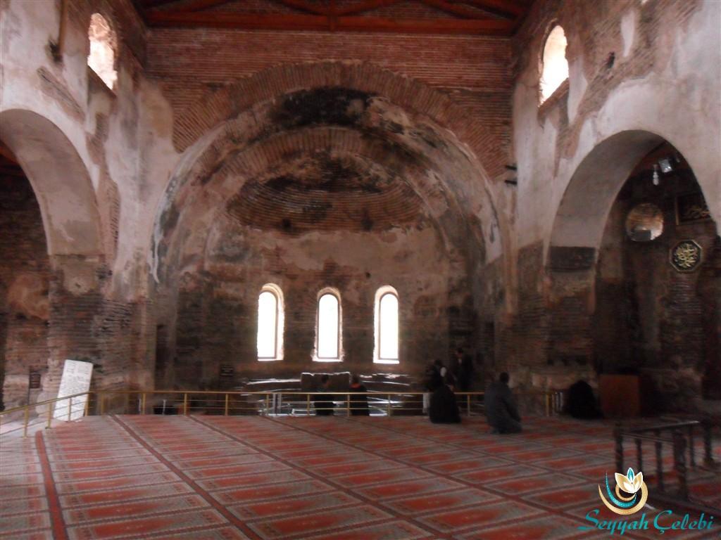İznik Ayasofya Orhan Camii Teslis Üçleme Pencereli Doğu Kısmı