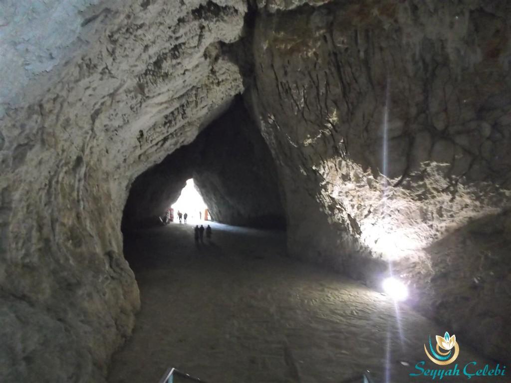 Oylat Mağarası Giriş Merdivenleri