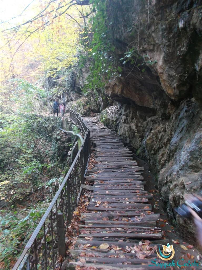 Oylat Şelale Yolu Tahta Köprü