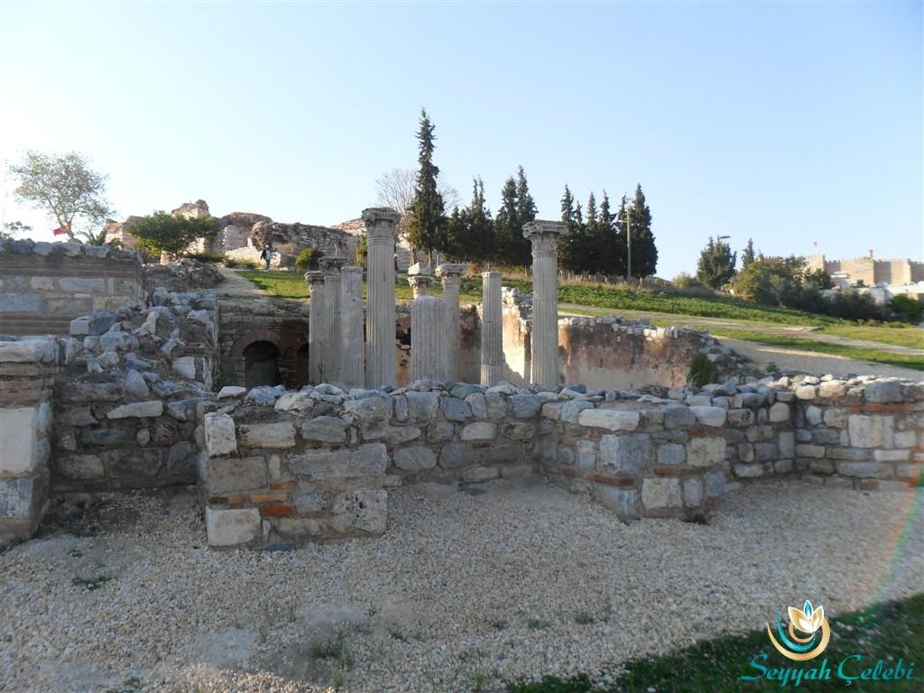 Bizans Dönemi Su Kemeri Sütunları