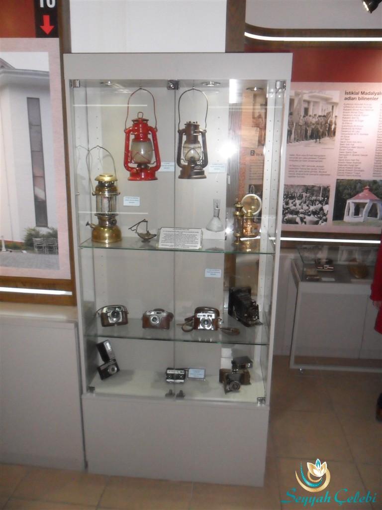 Yalova Kent Müzesi Eski Makineler Lambalar