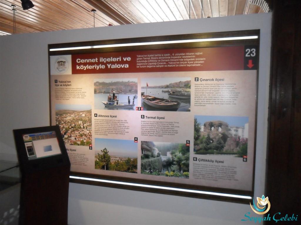 Yalova Kent Müzesi İlçe Tanıtımları